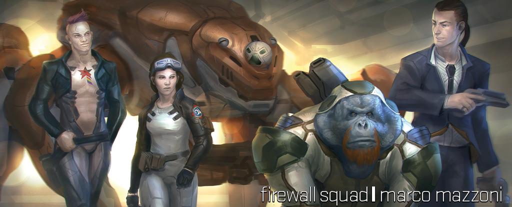 Firewall Squad — Marco Mazzoni