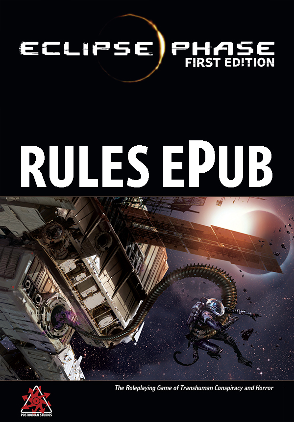 Eclipse Phase first edition Rules ePub